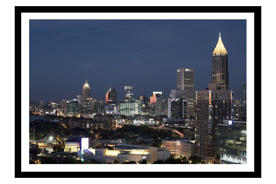 Midtown Atlanta cityscape