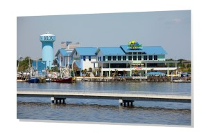 Biloxi Skyline Canvas High Quality Wall Art And Canvas Prints Of