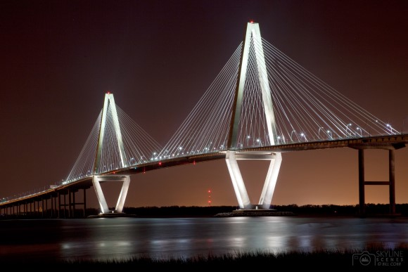 The New Cooper River Bridge, Charleston, South Carolina
