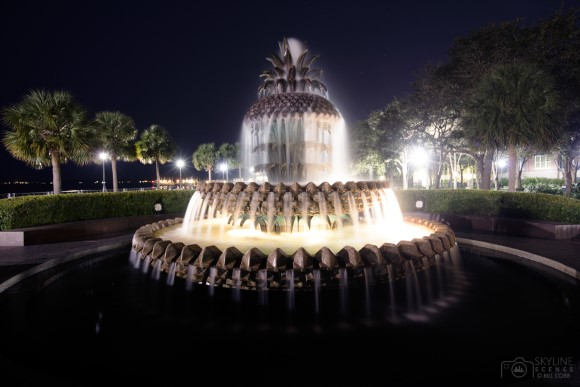 Famous Pineapple Fountain, Charleston, South Carolina