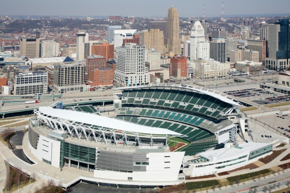 Paul Brown Stadium, Cincinnati, Ohio