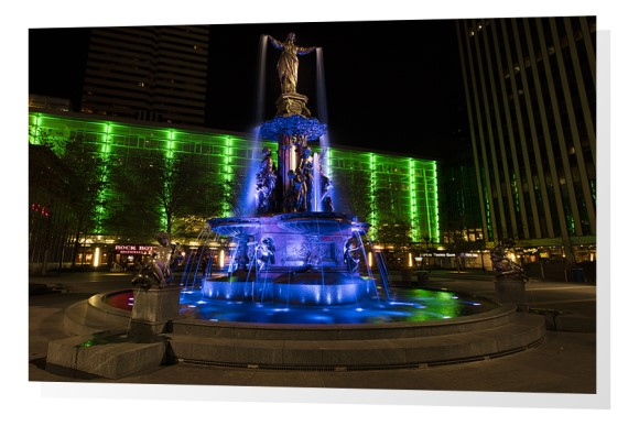 Fountain Square and The Tyler Davidson Fountain