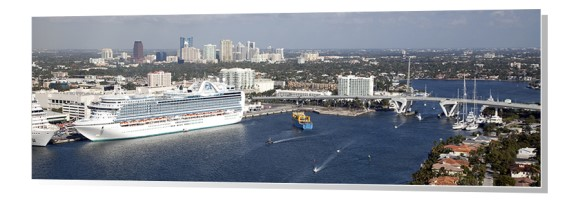 Fort Lauderdale Skyline Panorama