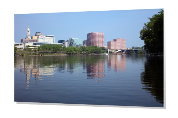 Downtown Hartford from the Riverfront