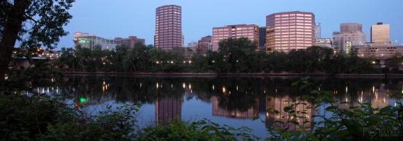 Hartford Skyline Panorama