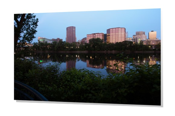 Hartford, Connecticut from Great River Park