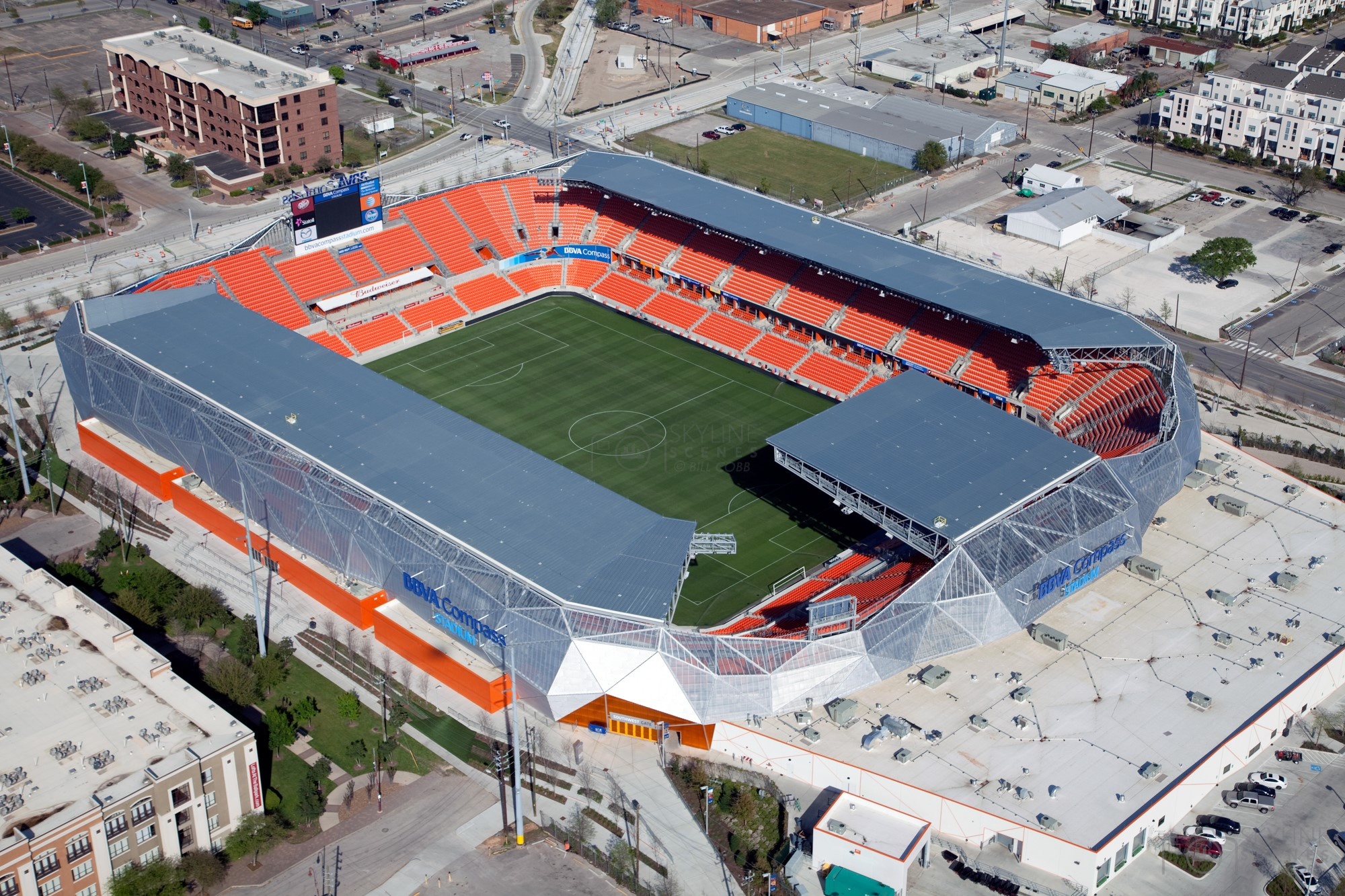 BBVA Compass Stadium in Houston