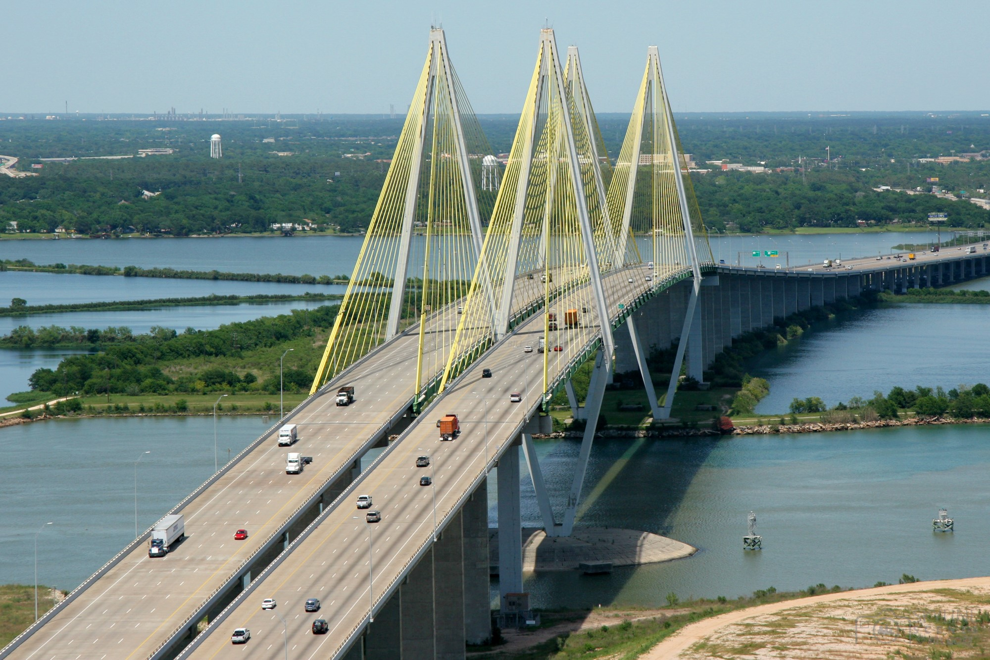 Fred Hartman Bridge Houston