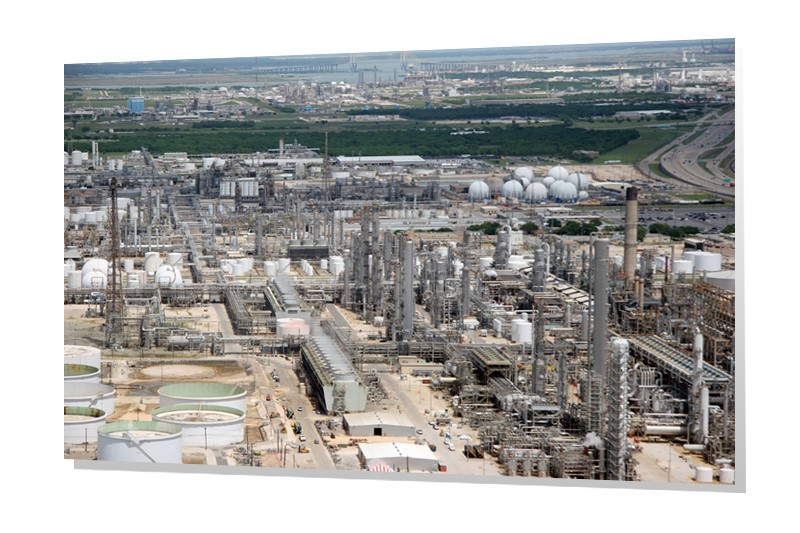 Houston Oil Refineries