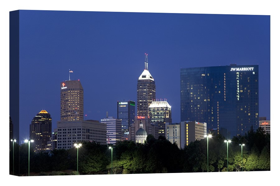 Indianapolis, Indiana Downtown Skyline