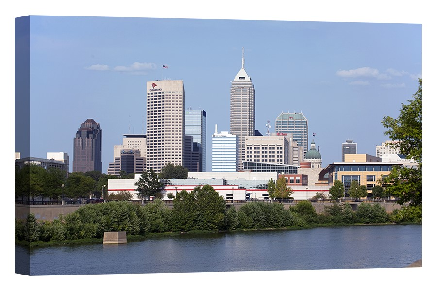 Downtown Indianpolis, Indiana Skyline