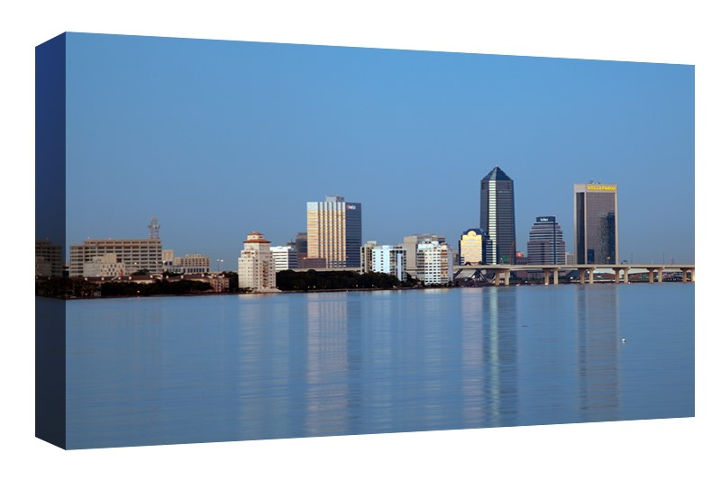 Skyline of Downtown Jacksonville, Florida