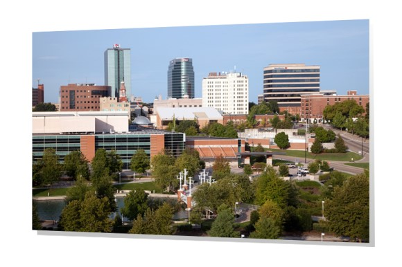 Downtown Knoxville, Tennessee Skyline