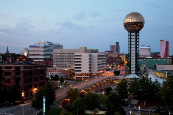 Sunsphere, World's Fair Park, Knoxville, Tennessee