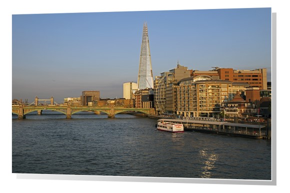 River Thames and The Shard