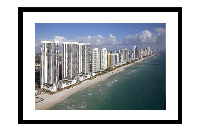 Skyline of Sunny Isles Beach, Florida