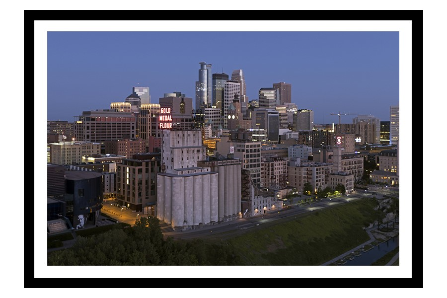 Mills District in Minneapolis