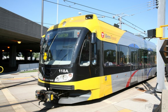 Metro Transit Light Rail, Minneapolis, Minnesota