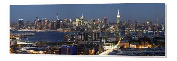 Midtown New York City Skyline Panorama