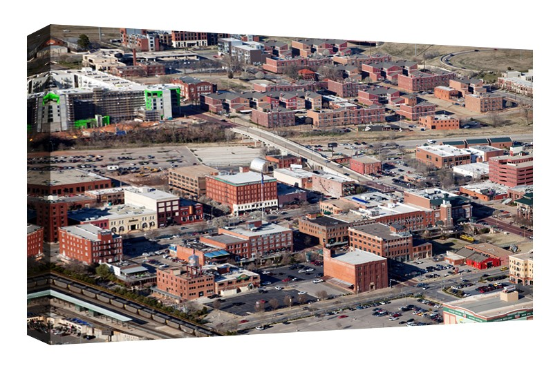 Bricktown and Deep Deuce, Oklahoma City