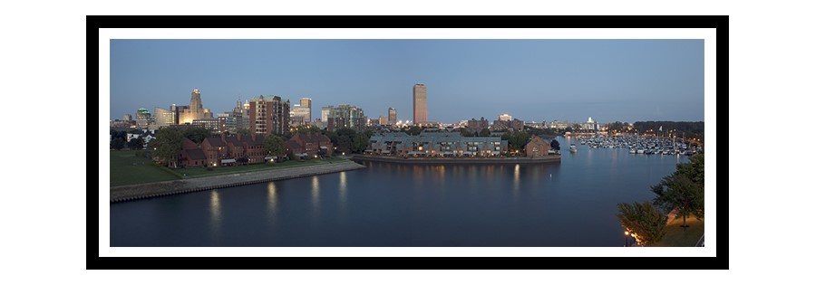 Buffalo Skyline Panorama