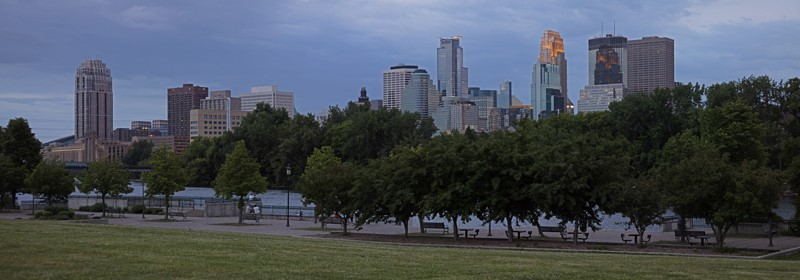Minneapolis Skyline Panorama
