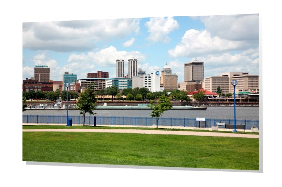 Peoria, Illinois Skyline