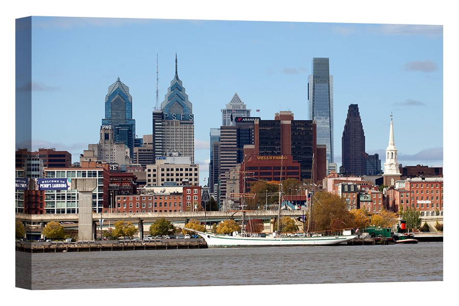 Philly Skyline from the Delaware River
