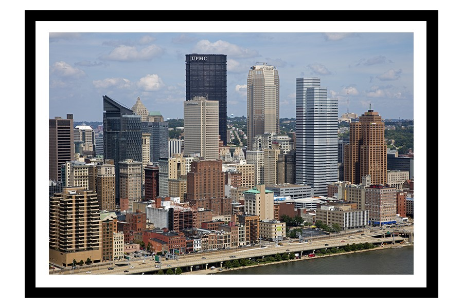 Pittsburgh, Pennsylvania city skyline