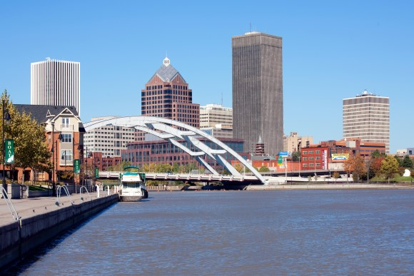 Rochester, New York Skyline