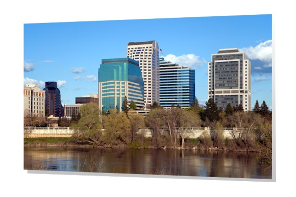 Downtown Sacramento Skyline