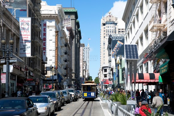 Cable Cars in San Francisco, CA