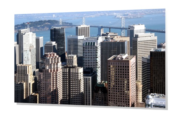 Aerial of Downtown San Francisco
