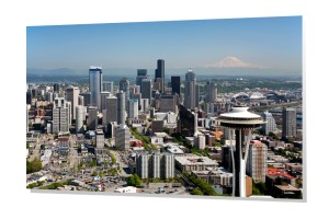 Seattle Skyline Wall Art Canvas Acrylic Metal And More