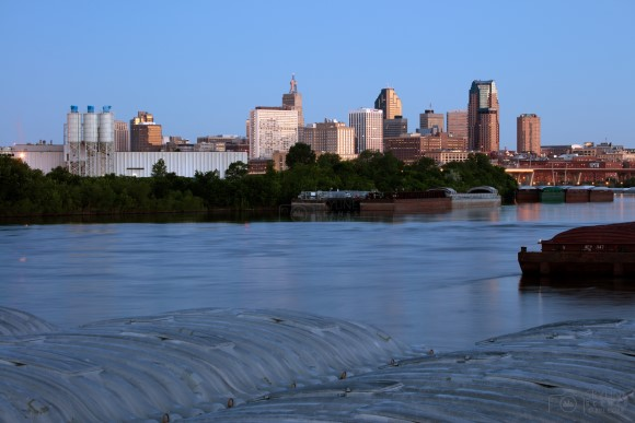 Saint Paul Skyline at dawn