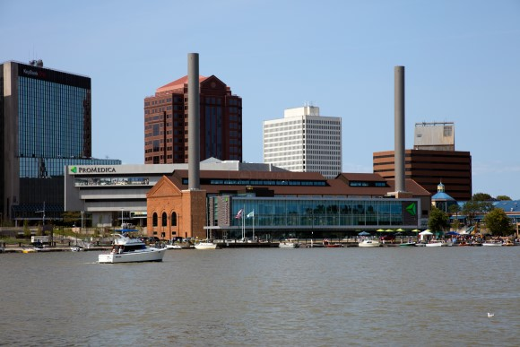 ProMedica and Downtown Toledo Skyline
