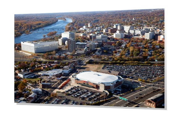 Aerial of Trenton, New Jersey