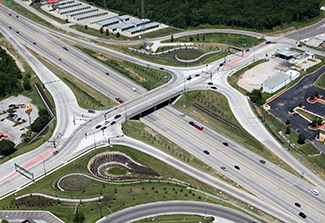 Woods Chapel interchange