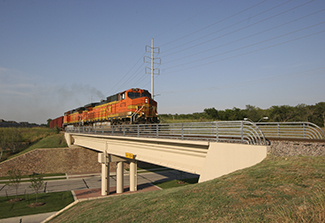 BNSF Bridge Irving TX