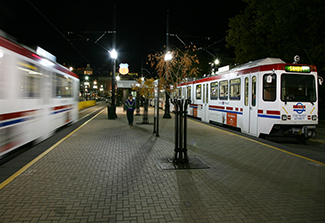 Salt Lake City light rail