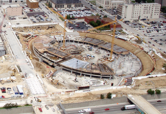 Sprint Center Construction Progress 2