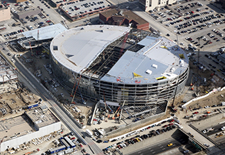 Sprint Center Construction Progress 4