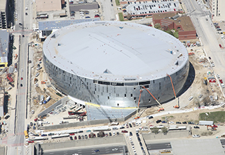 Sprint Center Construction Progress 5